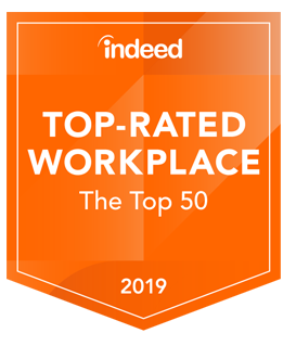 Indeed Top Rated Workplace
