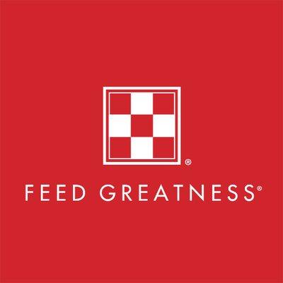 Purina Feeding Greatness Logo