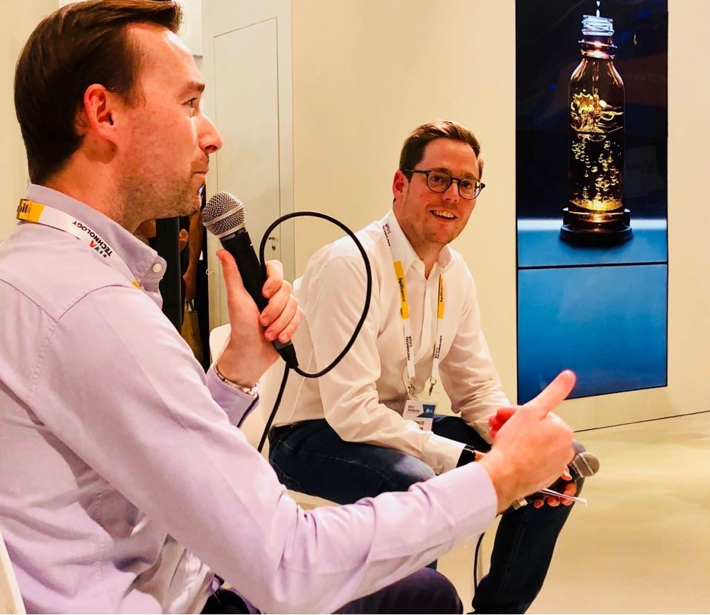 Career talk with digital recruiters at vivatech 2018