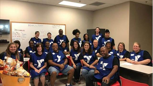 Magellan employees at the YMCA