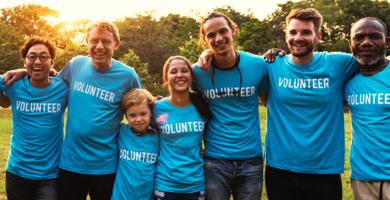 image de bénévoles
