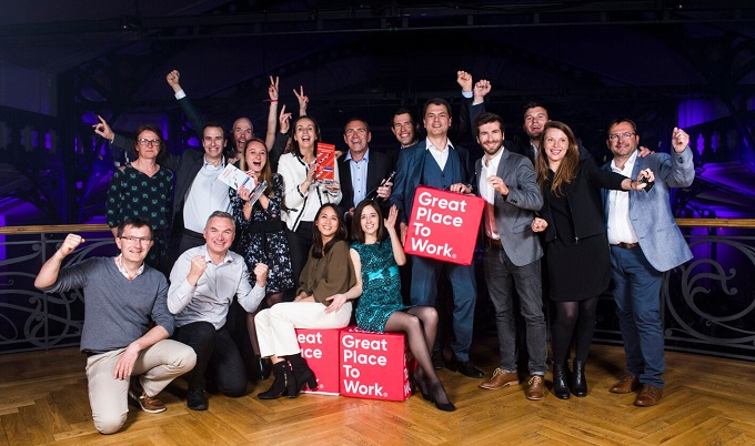Mars France 3ème au classement Great Place to Work en 2019