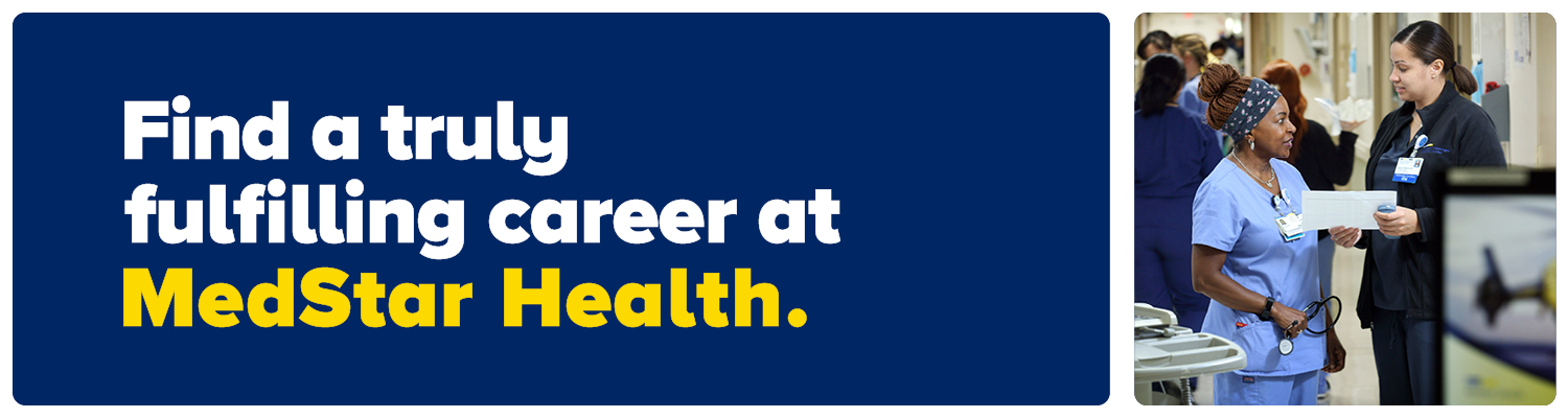 MedStar Health Homepage Hero