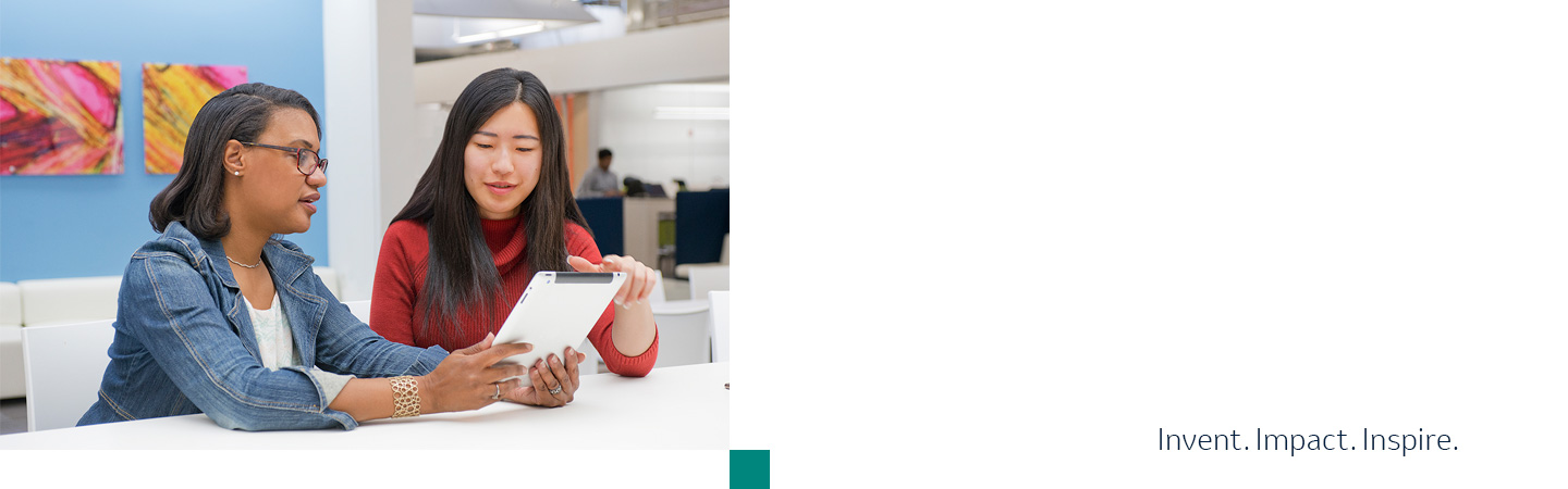 Information Technology webpage IT female workers at Merck