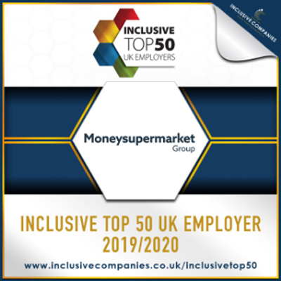 Inclusive Top 50 UK Employer 2019/2020 Award