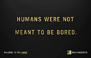 Humans Were not Meant To Be Bored
