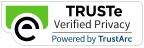 フッター TrustE Verified Privacy