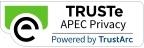 页脚 TRUSte APEC 隐私