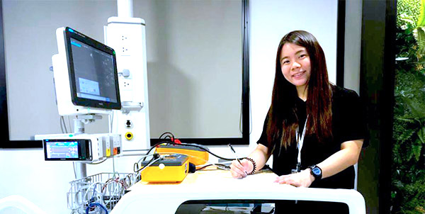 Meet Clara Poh, Field Service Engineer at Philips Singapore