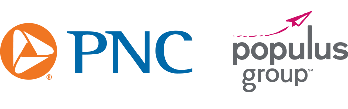 PNC and Populus Logos