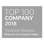 Top 100 company 2018 Thomson Reuters Diversity & Inclusion Index