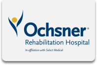 Careers At ochsner Rehab Hospital Logo