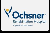 Careers At ochsner Rehab Hospital Logo
