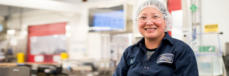 Production Labor female employee
