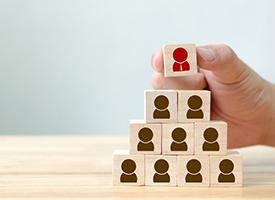 image of senior leadership team blocks