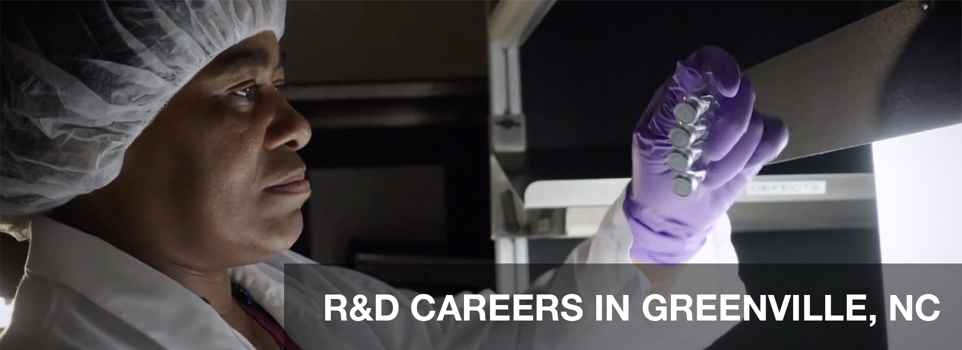R&D CAREERS IN GREENVILLE,NC