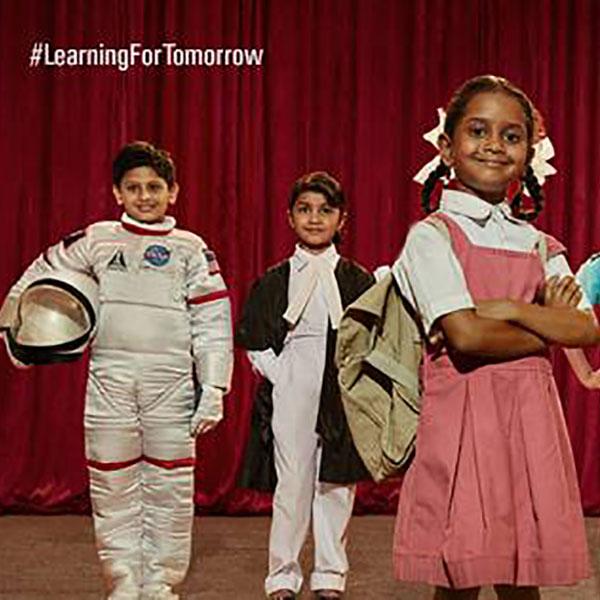 children with their dream jobs