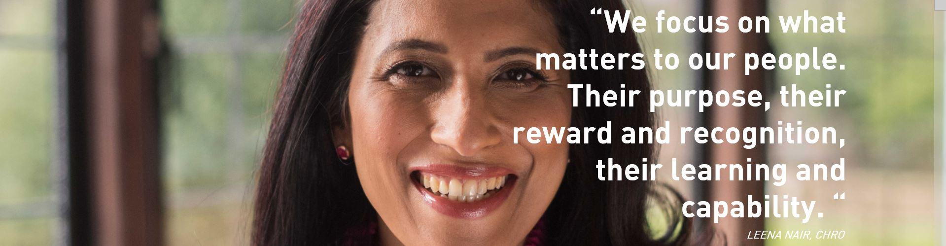 Leena Nair quote