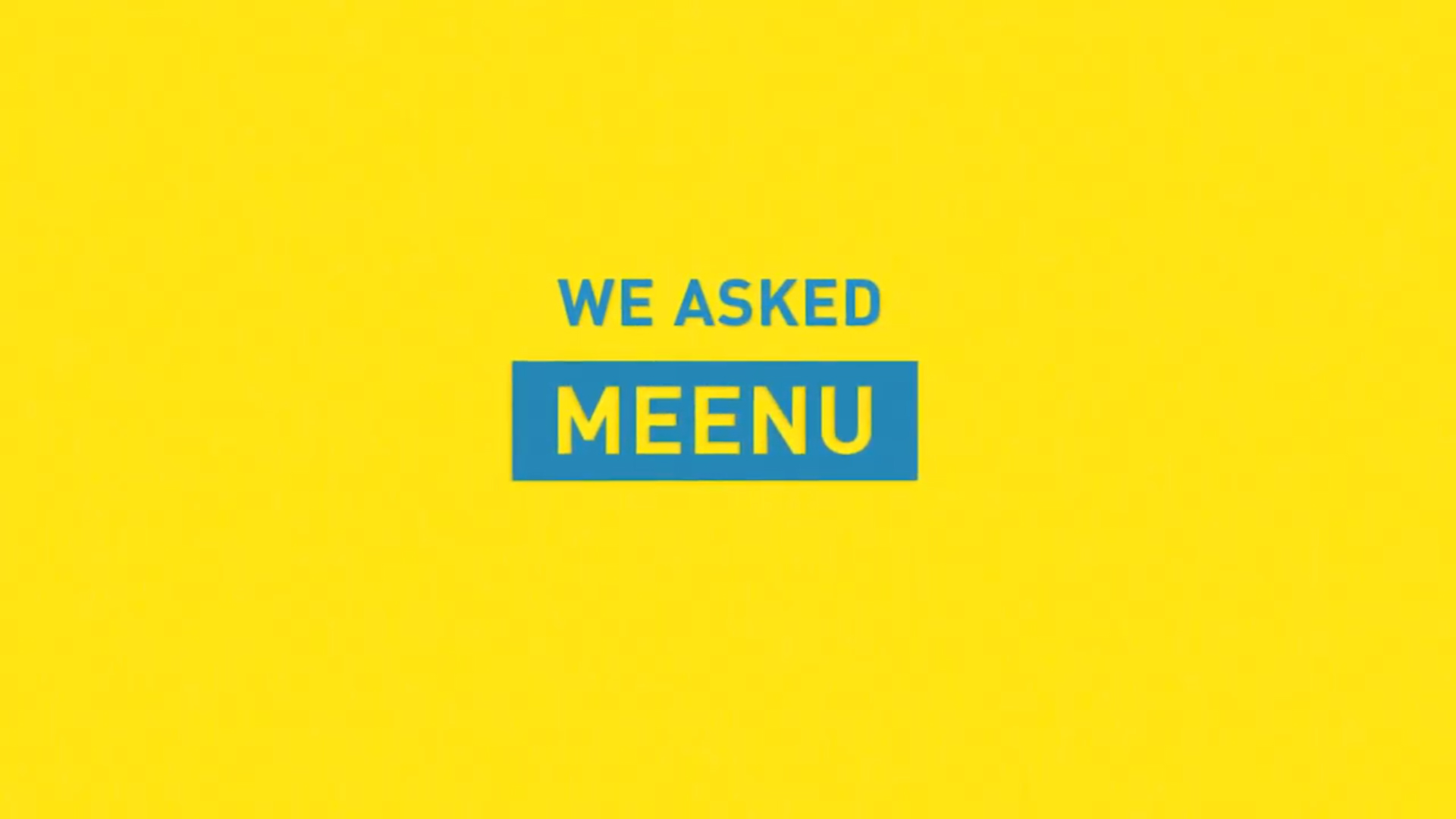 we asked meenu splash image