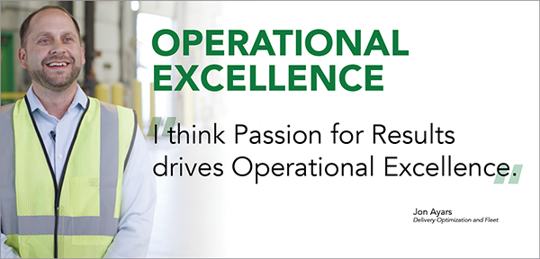 Veritiv value: Operational Excellence