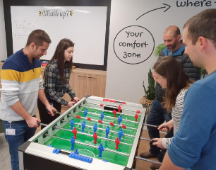 Foosball in the office