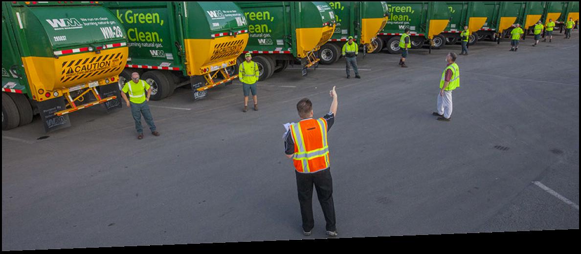 Veterans at Waste Management