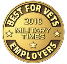 Military Times - Best for Vets Employer 2018