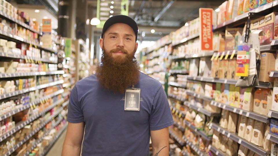 Team Member in Grocery Aisle