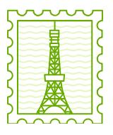 Melbourne Stamp
